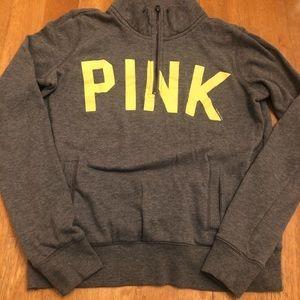 PINK half zip sweatshirt very good condition XS